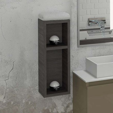 Demi colonne de rangement ouverte space 20x55 cm for Colonne de salle de bain 20 cm de large