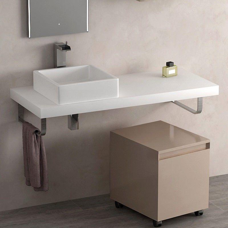 plan vasque flex 120 cm stonelight. Black Bedroom Furniture Sets. Home Design Ideas