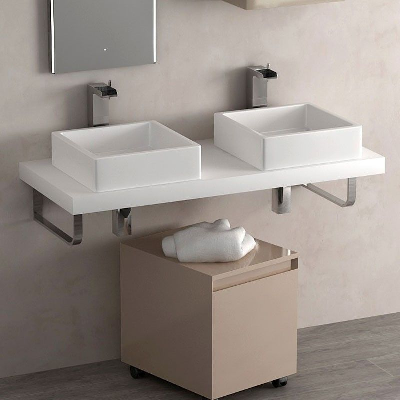 Plan vasque flex 120 cm stonelight for Plan vasque salle de bain