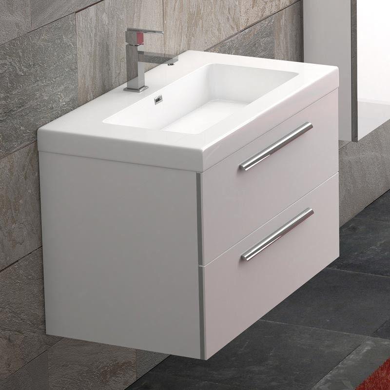 Meuble vasque 80 cm maison design - Vasque salle de bain 80 cm ...