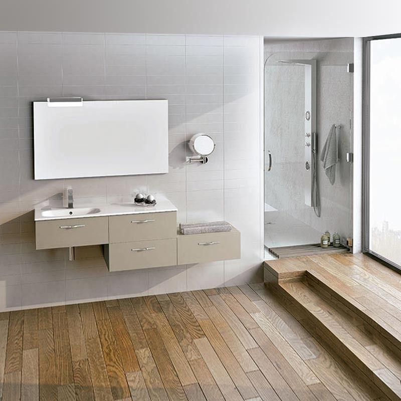 Meuble salle de bain 180 cm 4 tiroirs play for Tiroir meuble salle de bain