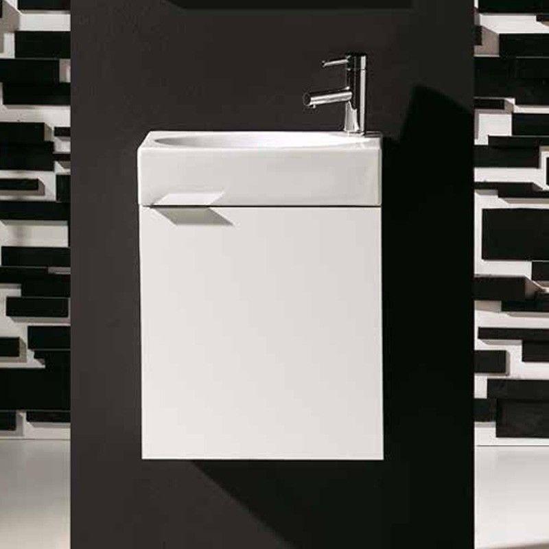 lave main faible profondeur 25x45 cm smart pack. Black Bedroom Furniture Sets. Home Design Ideas