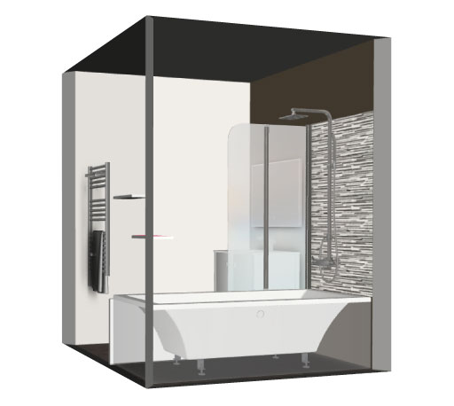 salle de bain bathbox baignoire meuble 3 24 m2. Black Bedroom Furniture Sets. Home Design Ideas
