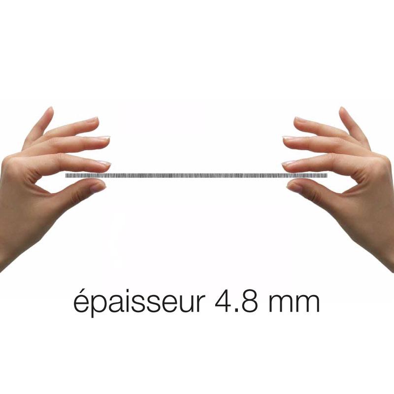 Carrelage mur sol 60x120 cm porcelaine de paris rabat for Carrelage sol fine epaisseur