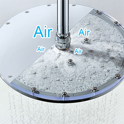 Technologie injection air