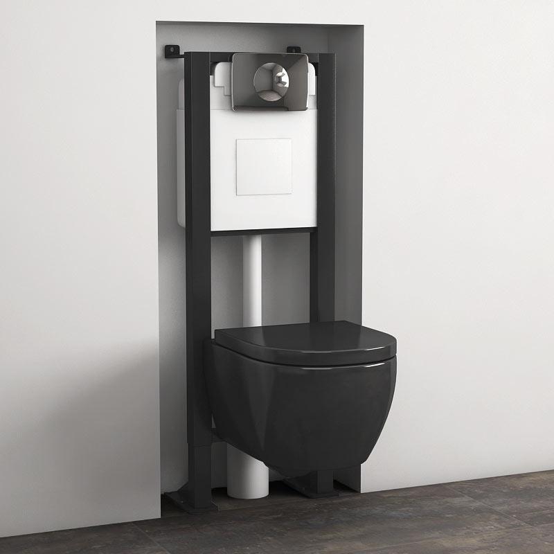 Avantage pack wc orba compact noir