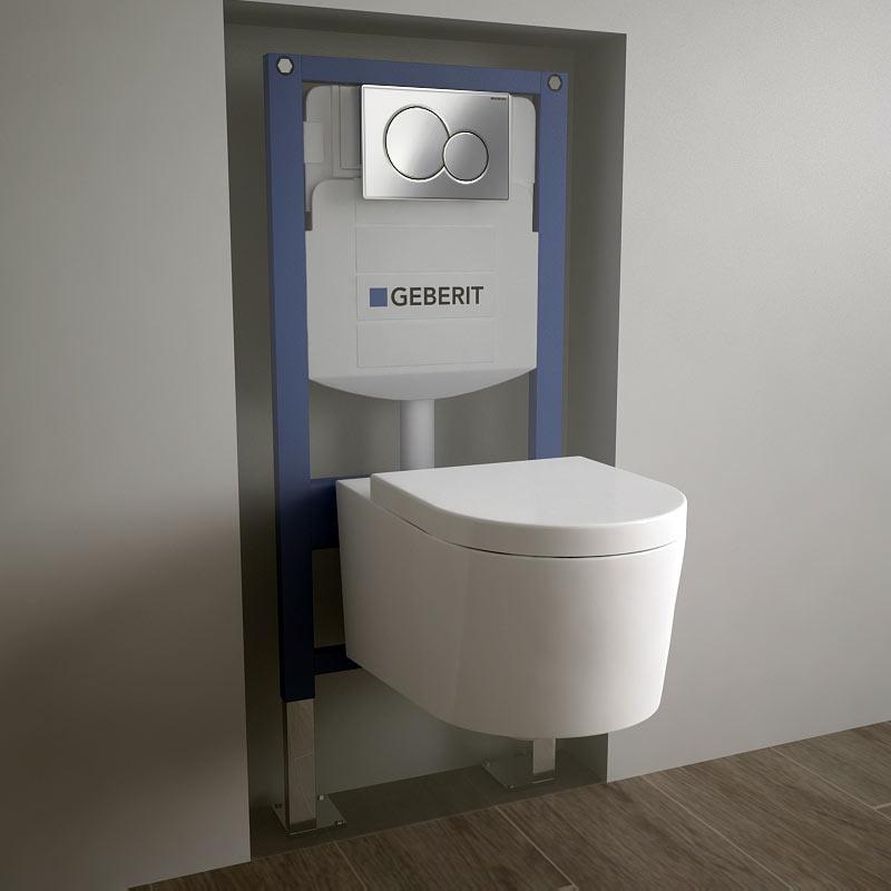 Avantes : pack WC orba compact bati geberit