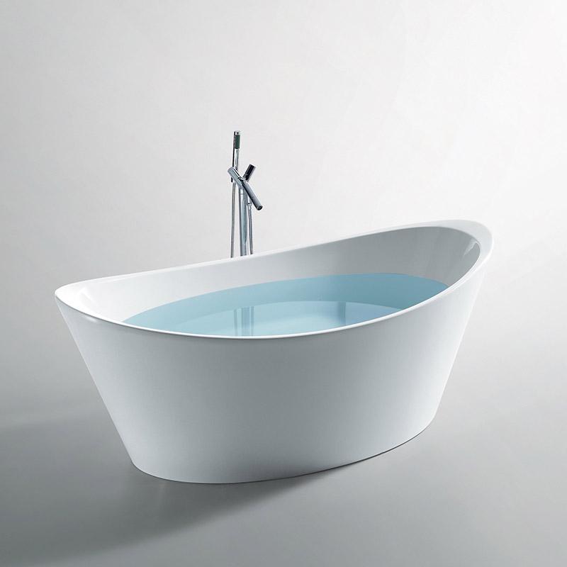 baignoire ilot ovale 180x89 cm acrylique inizio. Black Bedroom Furniture Sets. Home Design Ideas