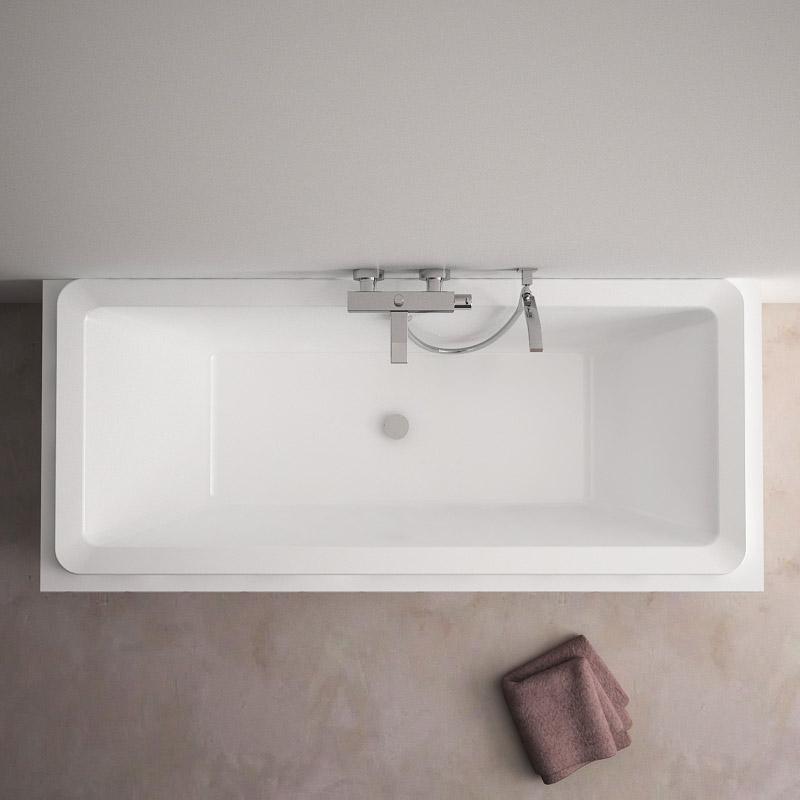 baignoire rectangulaire 175x75 cm acrylique motu. Black Bedroom Furniture Sets. Home Design Ideas