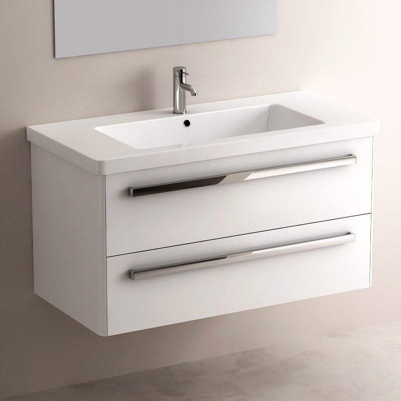 qualit du produit meuble easy blanc brillant 100. Black Bedroom Furniture Sets. Home Design Ideas