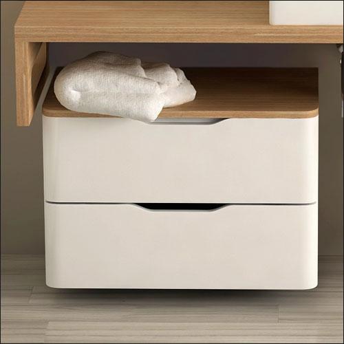 D couvrez le nouveau meuble de salle de bain woody for Meuble 40x40