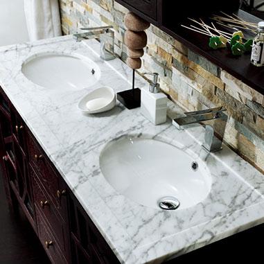 Meuble salle de bain 140 cm marco polo - Meuble de salle de bain de qualite ...