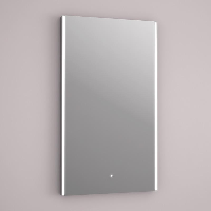 Miroir lumineux led anti bu e 40 cm - Miroir anti buee salle de bain ...