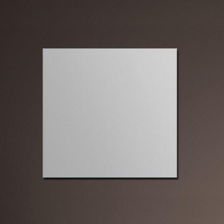 Meuble salle de bain 90 cm ch ne 2 tiroirs plan for Miroir zen nature