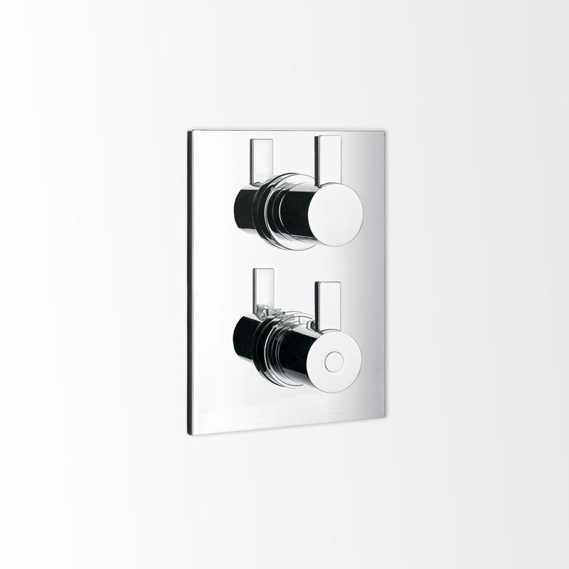 pack douche encastrer thermostatique 3 voies nova. Black Bedroom Furniture Sets. Home Design Ideas