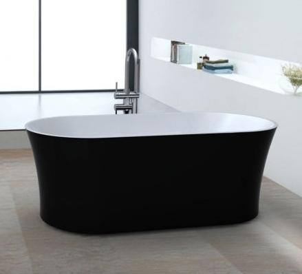 Salle de bain : 3 styles à découvrir autour du noir et blanc ...
