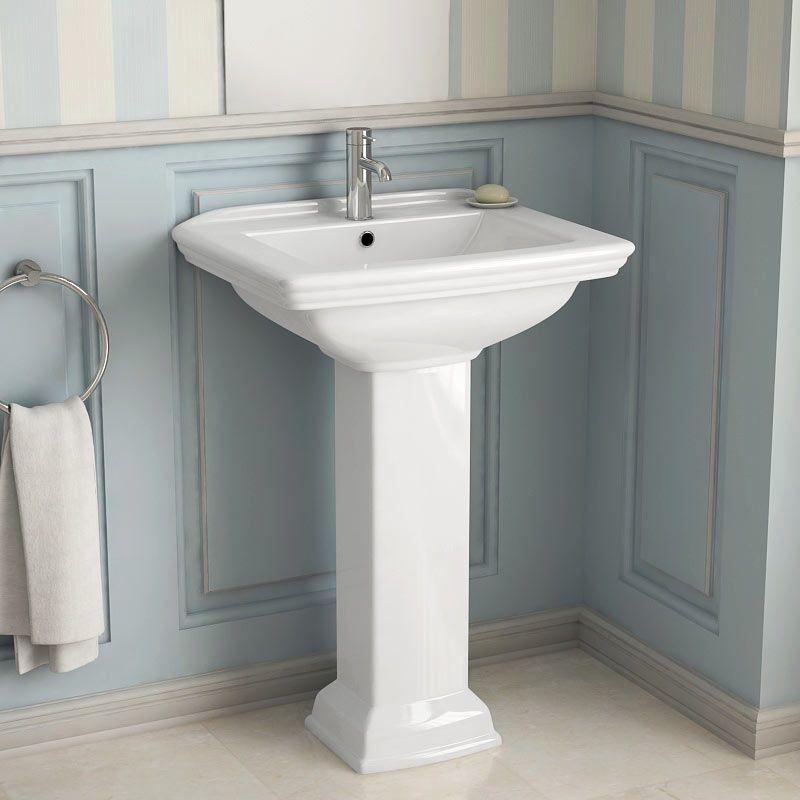 lavabo salle de bain de style campagne