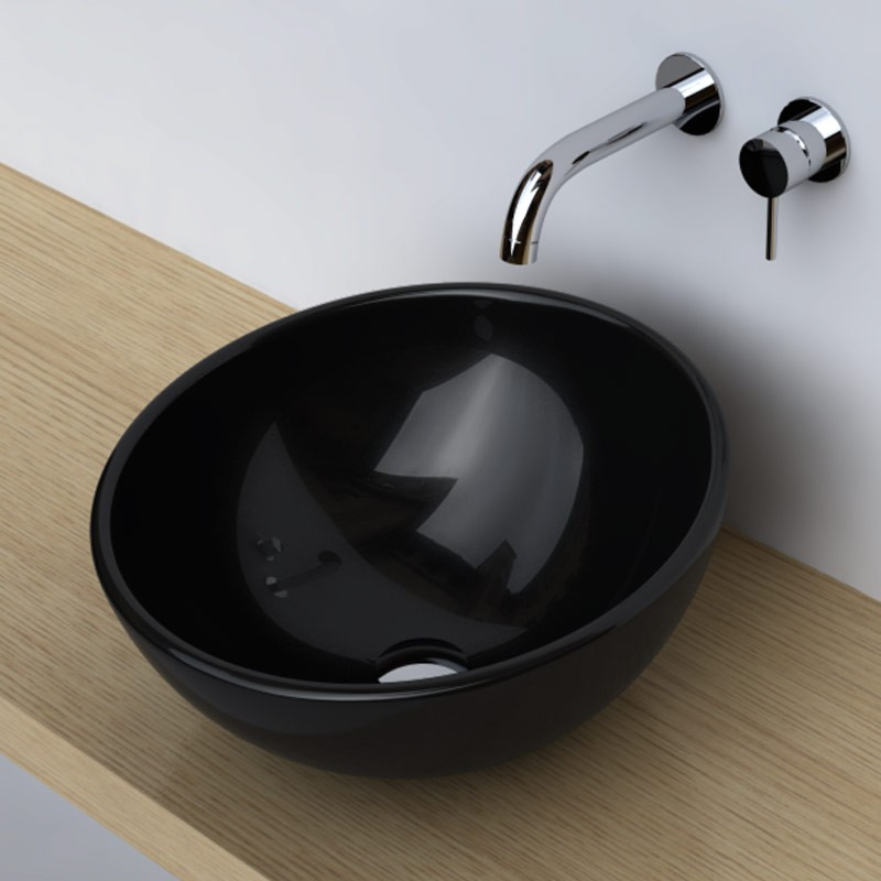 L 39 ambiance noire tendance for Mitigeur noir salle de bain