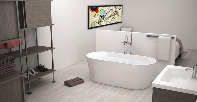 Salle de bain dans chambre for Miroir 40x70