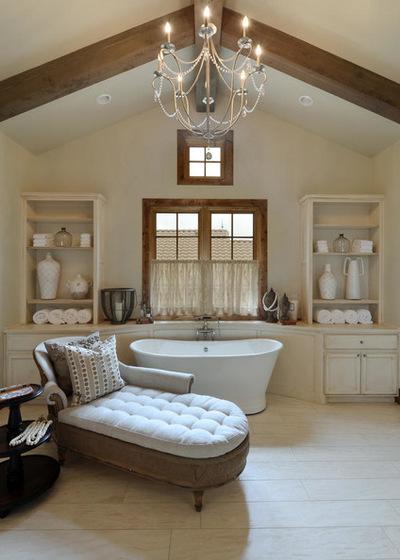Le style campagne dans la salle de bain for Mobilier de charme chic campagne
