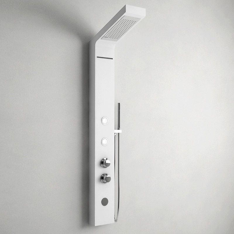 trendy certaines colonnes de douche comme le modle silk proposent en plus des jets massants. Black Bedroom Furniture Sets. Home Design Ideas