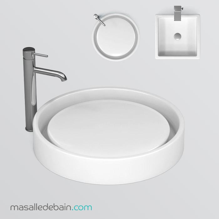 Sur masalledebain.com nous proposons une grande offre de vasques à ...