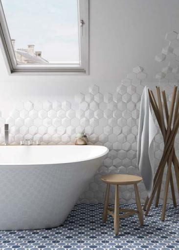 Aménager une salle de bain sous comble ou sous pente | Blog déco ...
