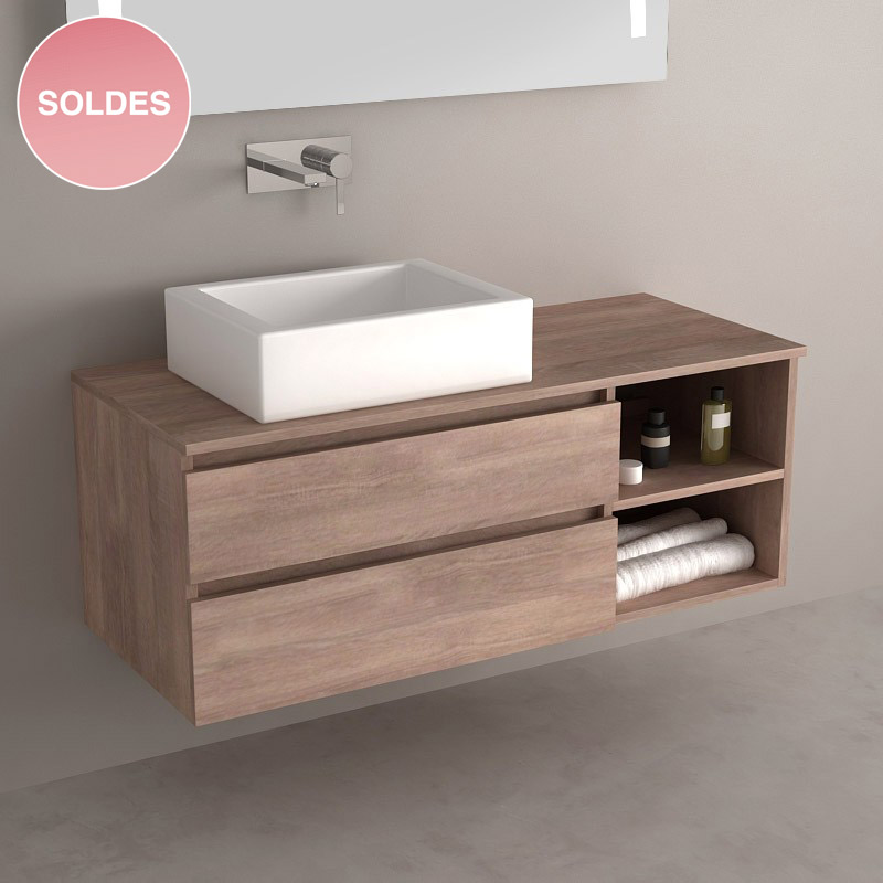 meuble salle de bain soldes. Black Bedroom Furniture Sets. Home Design Ideas