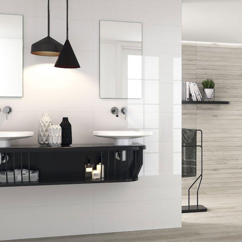 Best Carrelage Salle De Bain Blanc Brillant Ideas - House Design ...