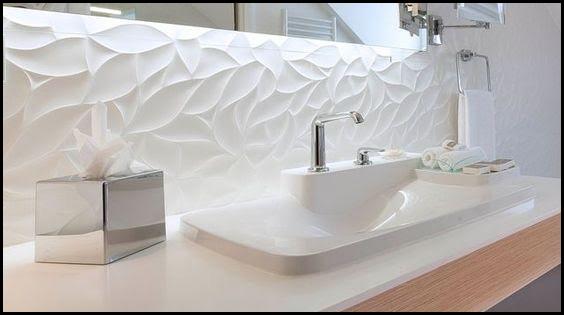 L 39 univers nature zen - Salle de bain design blanche ...