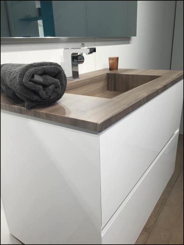 Contemporain moderne nouveau style for Evier salle de bain en pierre