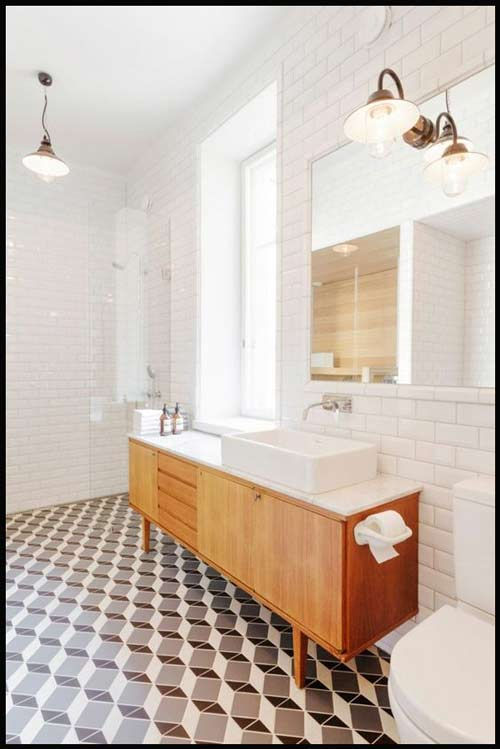 Univers Contemporain Scandinave Naturel Chic Salle De Bain