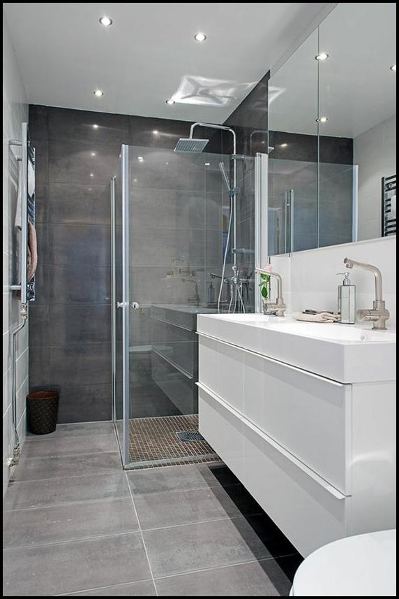 Univers contemporain dans la salle de bain premier article for Article salle de bain