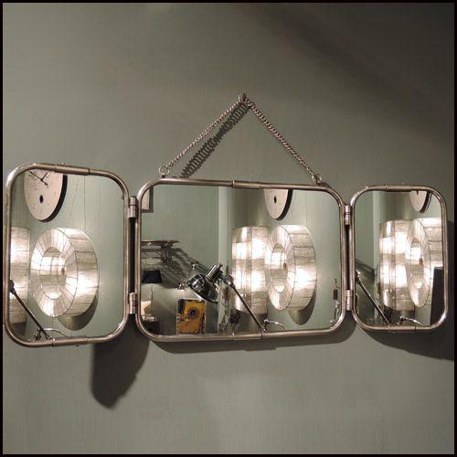 Le r tro atelier for Miroir atelier chehoma