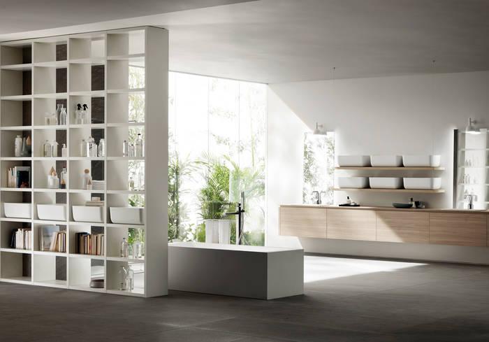 comment am nager une grande salle de bain. Black Bedroom Furniture Sets. Home Design Ideas