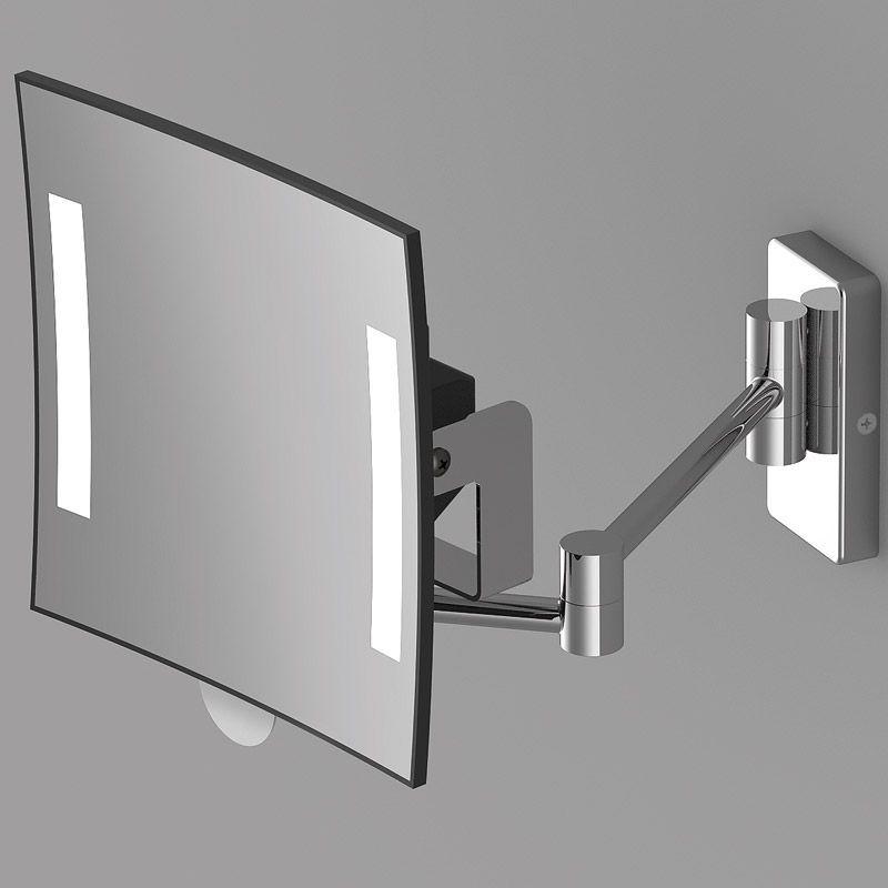 Bien choisir son miroir de salle de bain - Miroir salle de bain lumineux avec prise de courant ...