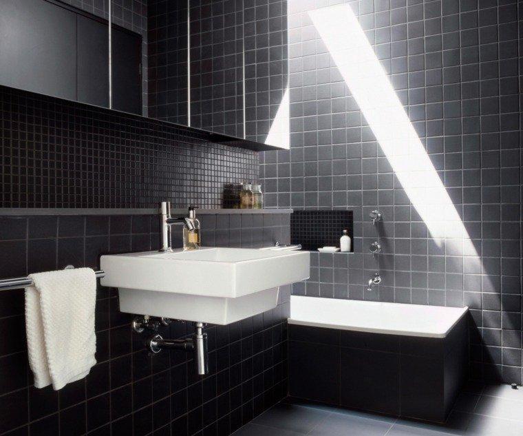 la salle de bain au masculin. Black Bedroom Furniture Sets. Home Design Ideas