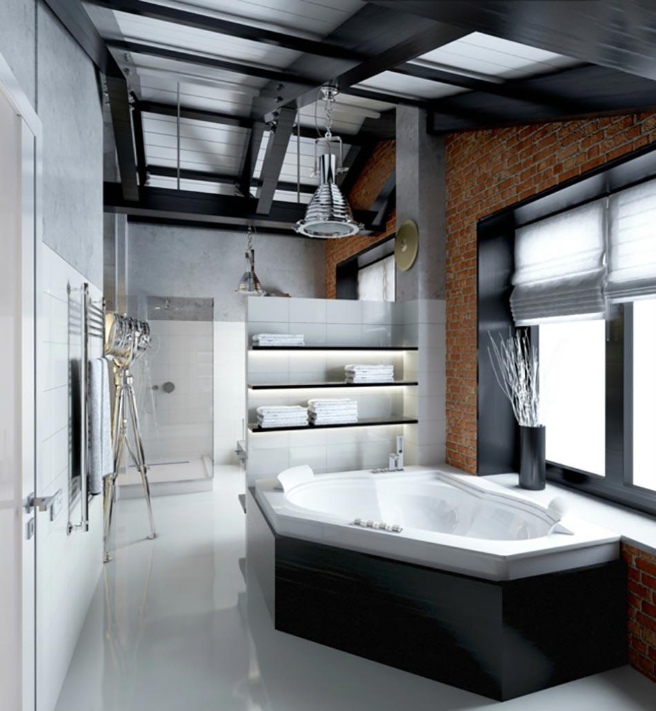 La salle de bain au masculin - Style de salle de bain ...
