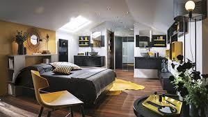 la salle de bain dans la suite parentale. Black Bedroom Furniture Sets. Home Design Ideas