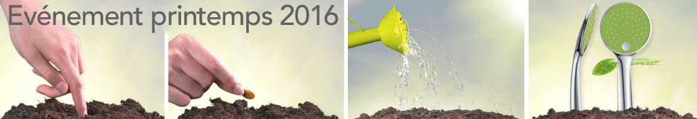 Printemps 2016 pour votre salle de bain