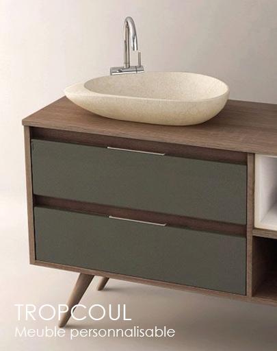 meuble de salle de bain composable