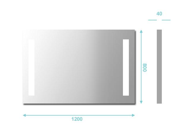 Miroir salle de bain lumineux anti buee 28 images for Miroir bluetooth 120