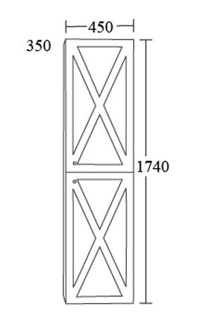 colonne de rangement linea class. Black Bedroom Furniture Sets. Home Design Ideas