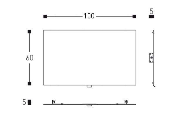 miroir basculant flow. Black Bedroom Furniture Sets. Home Design Ideas