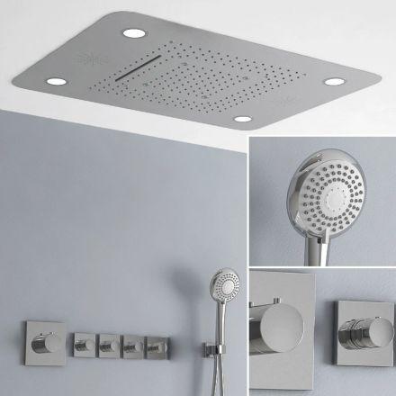 douche de pluie design pour une pluie de sensations. Black Bedroom Furniture Sets. Home Design Ideas