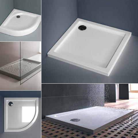 Receveur de douche installation for Receveur salle de bain