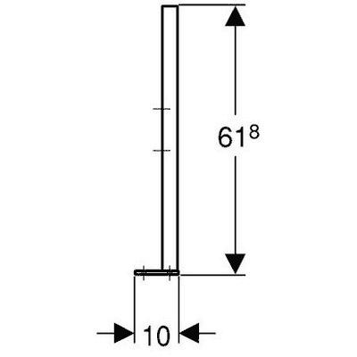 Schéma technique Jeu de jambe Duofix