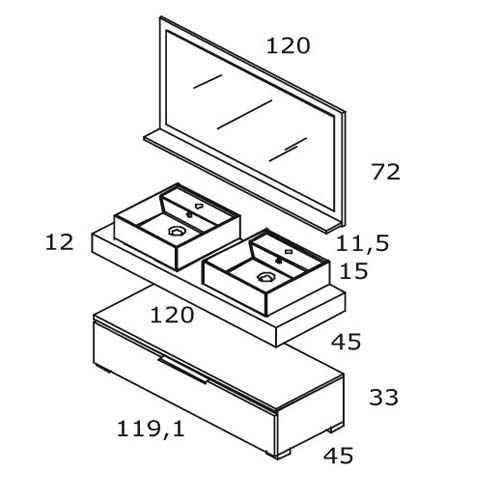 TECHNICAL DRAWING Schema-technique-Linum-120