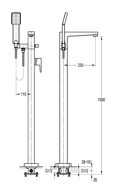 TECHNICAL DRAWING Image-Technique-FH8129-D53