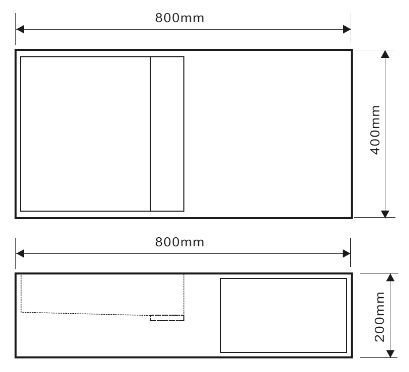TECHNICAL DRAWING Tech-JZ1004-80x40